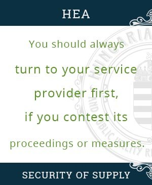 First, turn to your service provider