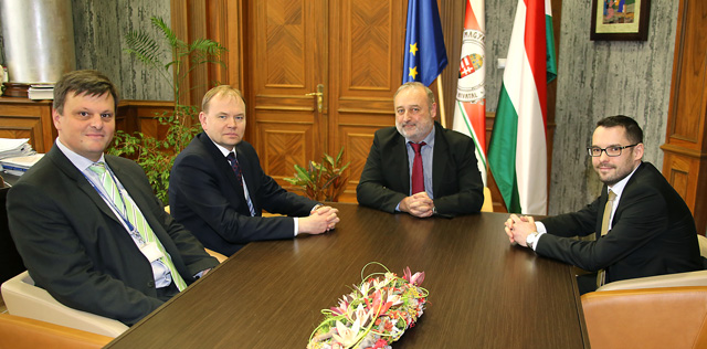 Presidents of Hungarian Energy and Public Utility Regulatory Authority and ERRA discussed future cooperation